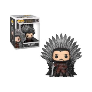 Game of Thrones - Jon Snow Sitting on Throne Funko Pop!
