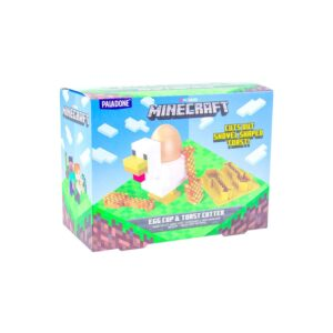 MINECRAFT Egg Cup + Toast Cutter
