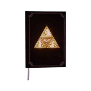 The Legend of Zelda - Backlit Triforce Notebook