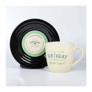 Beatles - L&M Birthday Mug and Saucer Set