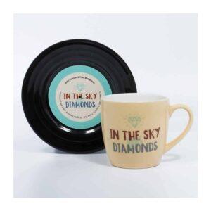 Beatles - L&M Diamonds Mug and Saucer Set