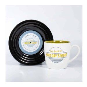 Beatles - L&M Hard Day's Night Mug and Saucer Set