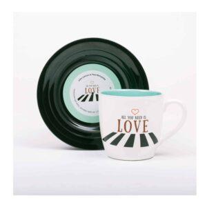 Beatles - L&M Love 2 Mug and Saucer Set