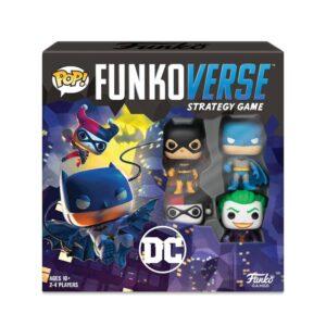 DC Comics Funkoverse Board Game 4 Character Base Set