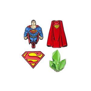 Superman - 4-pack Collectors Pins