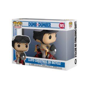 Dumb and Dumber -  Lloyd Christmas on Bicycle Funko Pop!
