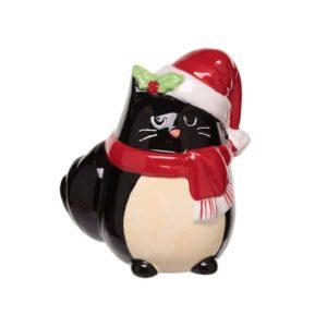 Feline Festive Christmas Money Box