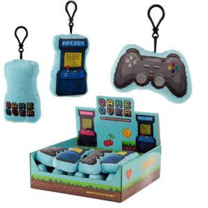Game Over Keychain Plush with Sound Random Selection