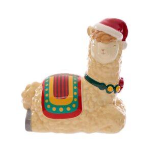 Llama Festice Christmas Money Box