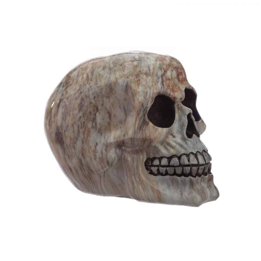 Marble Effect Skull