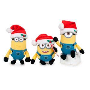 Minions - Random Holiday Minion Keyring Plush
