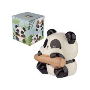 Panda On Branch Money Box