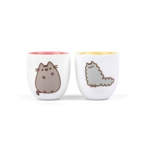 Pusheen - Egg Cup 2 Pack Stormy & Pusheen