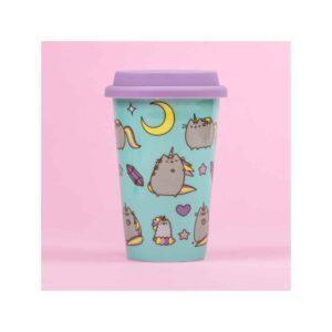 Pusheen - Unicorn Ceramic Travel Mug