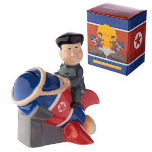Rocket Man Ceramic Money Box