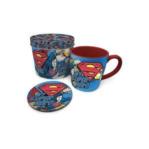 Superman - My Super Hero Mug with Coaster