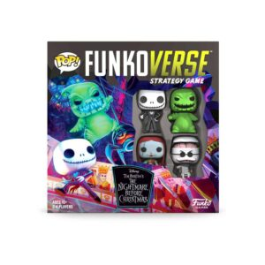 The Nightmare Before Christmas - Funkoverse Board Game 4 Character Base Set