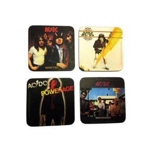 AC/DC - Coasters 4-pack