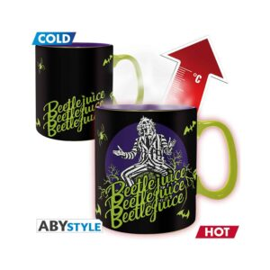 Beetlejuice - Show-Time Heat Change Mug