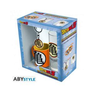 Dragon Ball Z - Kame Symbol Glass, Keyring, Mini Mug Set