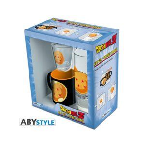 Dragon Ball Z - Glass + Shot Glass + Mini Mug Pack