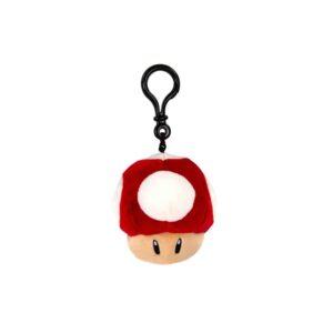Mario Kart - Super Mushroom Mochi-Mochi Clip On Plush Hanger