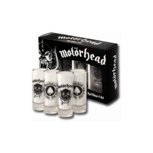 Motörhead Shotglasses 4-Pack
