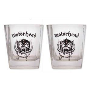 Motörhead Whishey Glasses 2-Pack