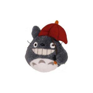 My Neighbor Totoro - Totoro with Red Umbrella Plush