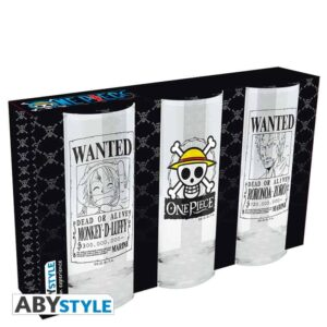 One Piece - Glasses Set of 3