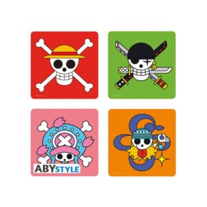 One Piece - Jollyrogers Coasters Set of 4