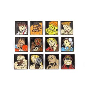 Street Fighter - Characters Pin Badges 12-Pack